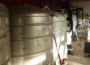 fabrication biere cuve
